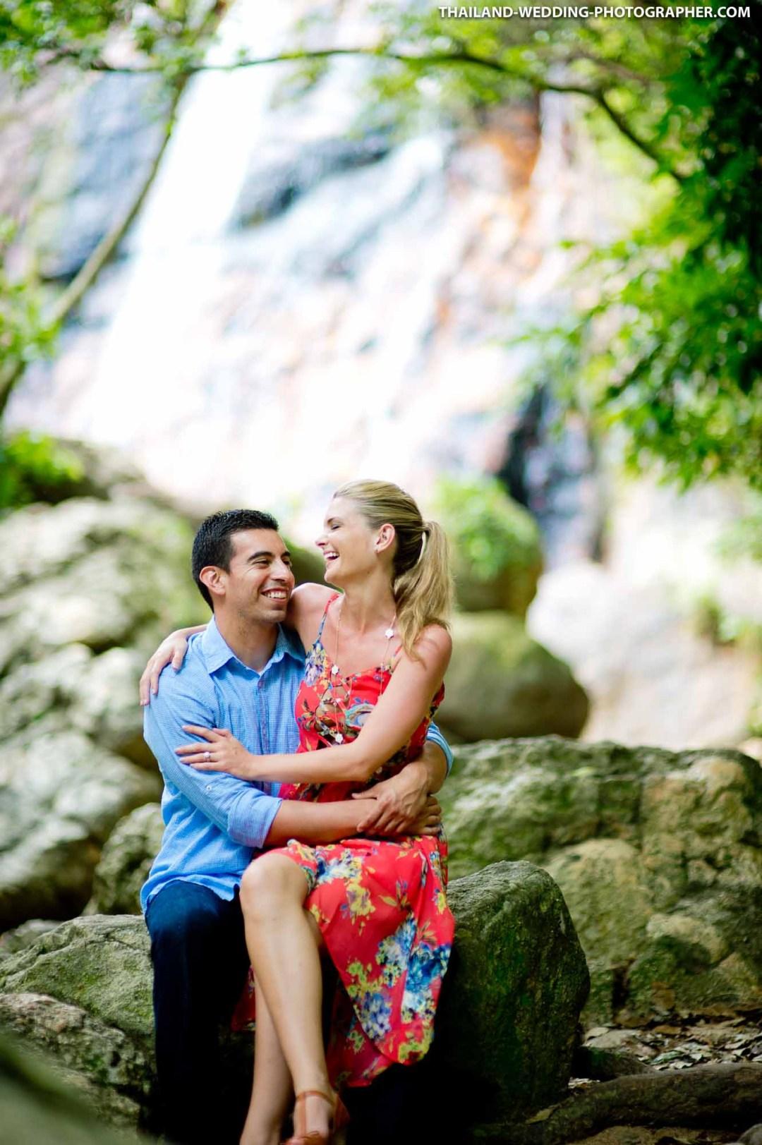 Lamai Waterfall Koh Samui Wedding Photography