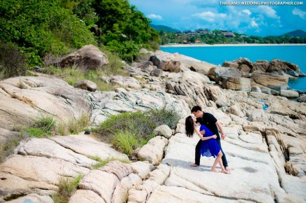 Lad Koh View Point Koh Samui Thailand Wedding Photography