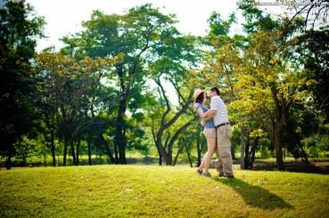 Wachirabenchatat Park Rod Fai Park Bangkok Thailand Wedding Photography