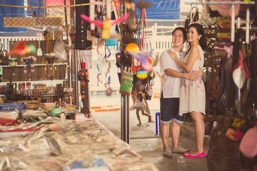 Damnoen Saduak Floating Market Ratchaburi Wedding Photography