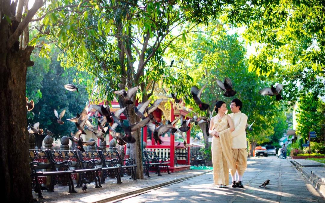 Pattaya & Bangkok Pre-Wedding Photoshoot