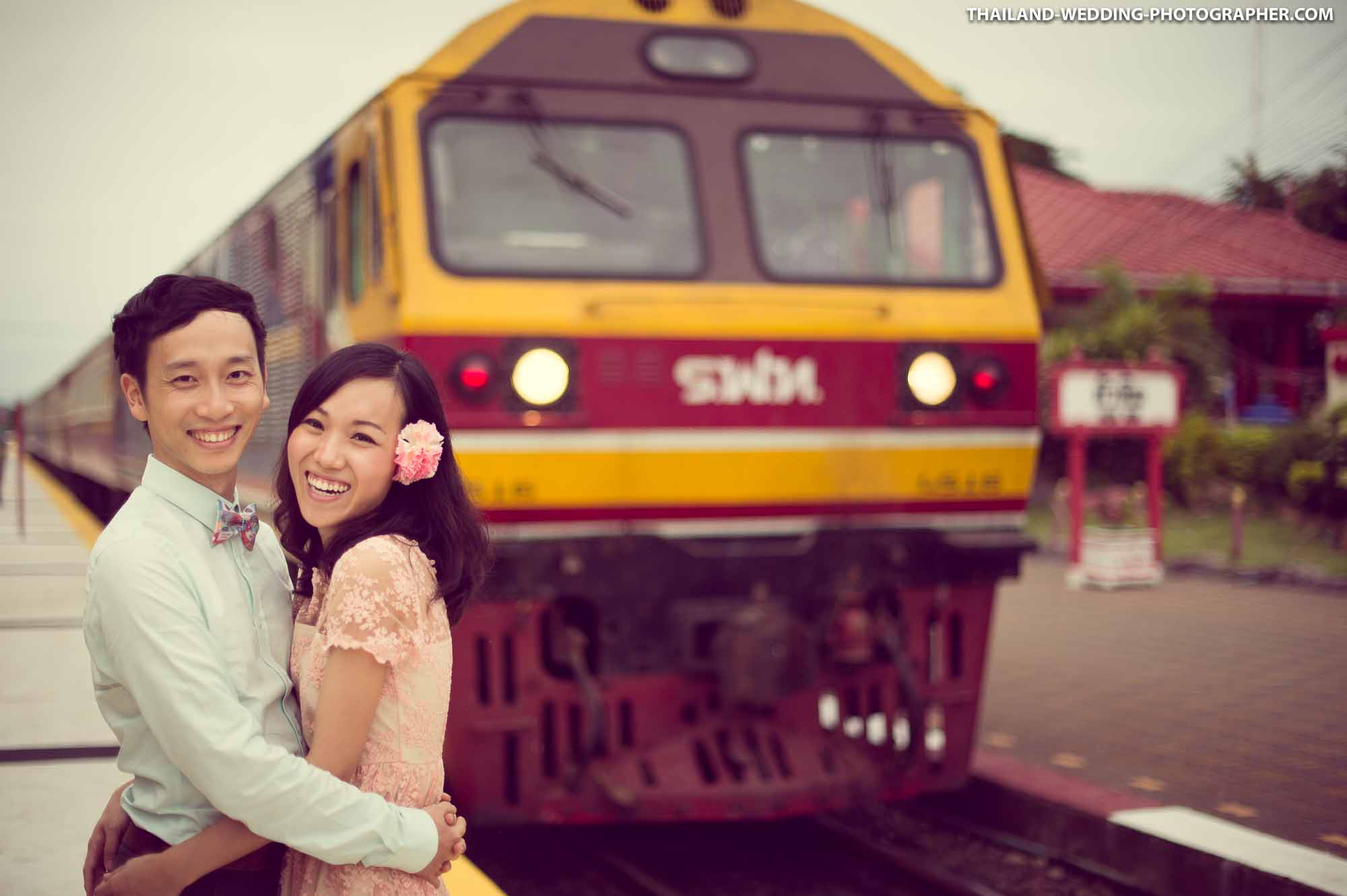 Hua Hin Pre-Wedding of couple from China