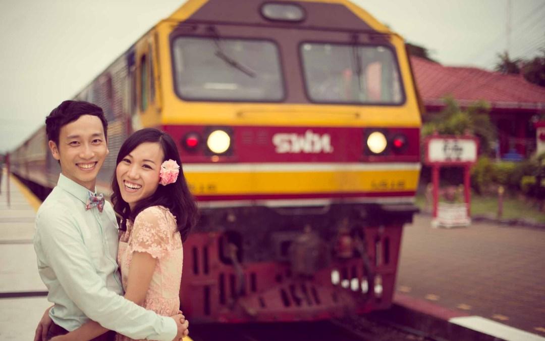Hua Hin Pre-Wedding of couple from China