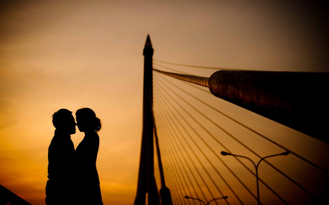 Bangkok Pre-Wedding Session of Isaac & Cheryl