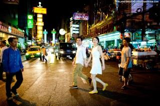 Yaowaorat Bangkok Thailand Wedding Photography