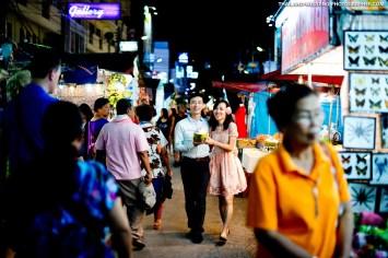 Hua Hin Night Market Wedding Photography