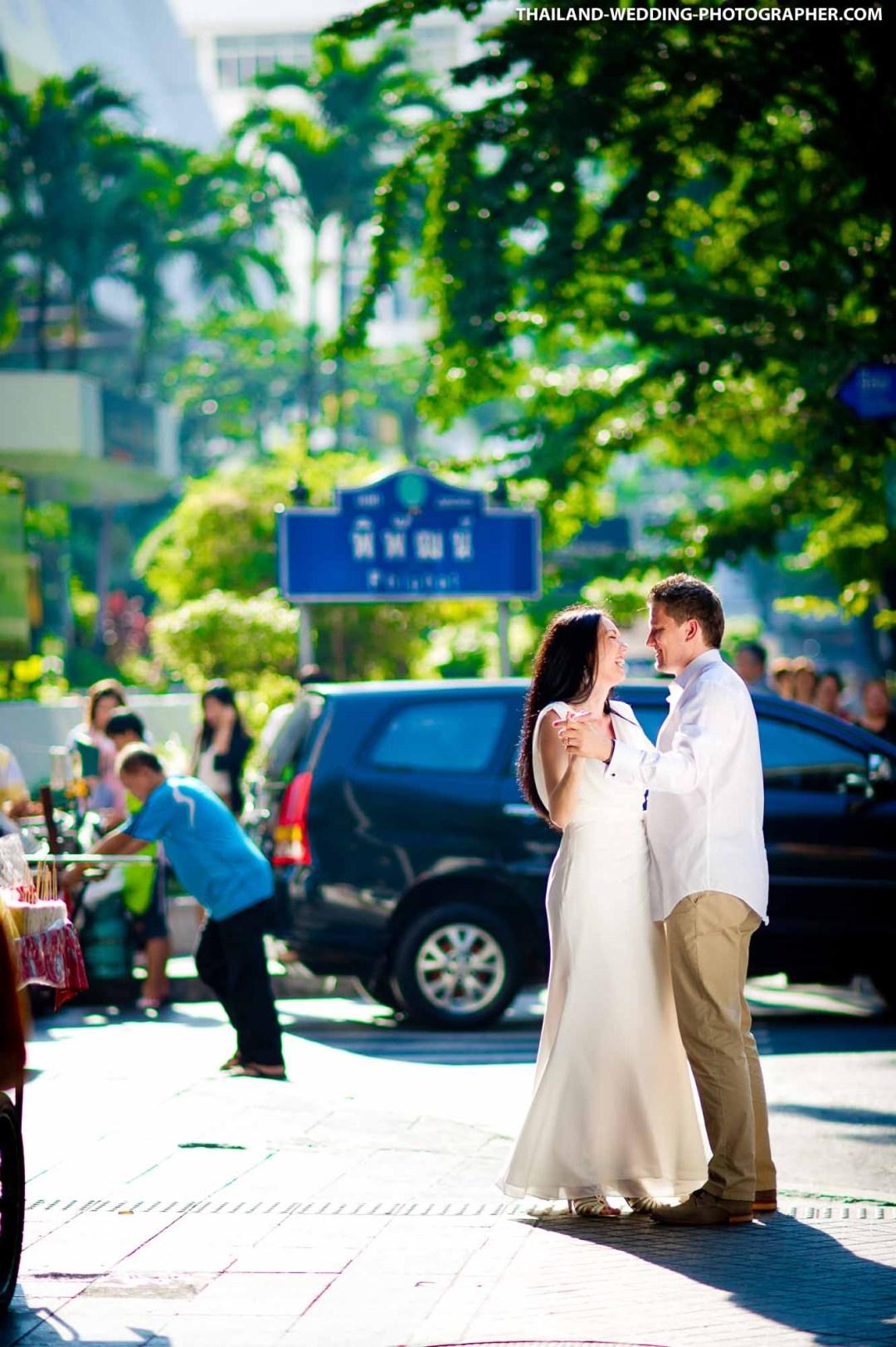 Silom Bangkok Thailand Wedding Photography