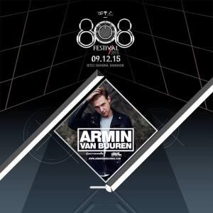 808 Festival Bangkok Armin Van Buuren, Trance, ASOT