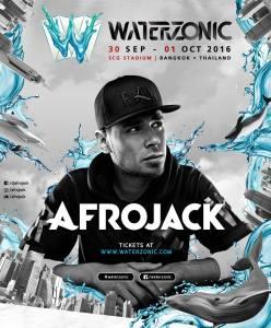 Waterzonic Bangkok 2016 - Afrojack, DJ, Music Festival, Thailand