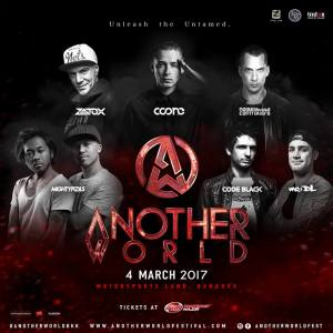 Anotherworld Music Festival Thailand 2017- Lineup, Bangkok, DJ, Hardstyle, Music Festival