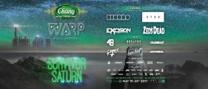Warp Music Festival Pattaya 2017- Final Banner,Rave, Beach, Party