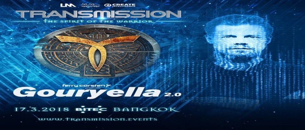 Ferry Corsten is Bringing Gouryella 2.0 to Transmission Festival Bangkok 2018!