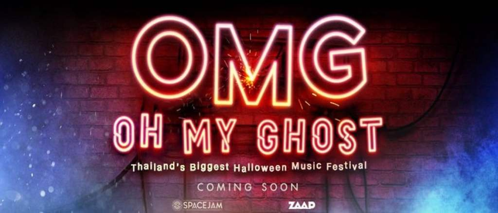 Oh My Ghost (OMG) is coming to Thailand!