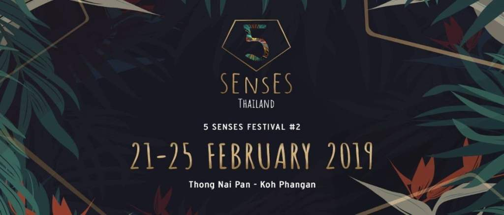 5 Senses Thailand 2019 Tickets!