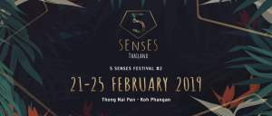 5 Senses Thailand 2019 - Koh Phangan, Music Festival, DJ, Techno