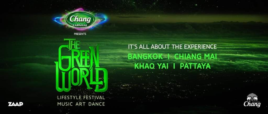 The Green World Thailand 2018!