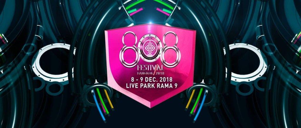 808 Festival Bangkok 2018 Phase I DJ's!