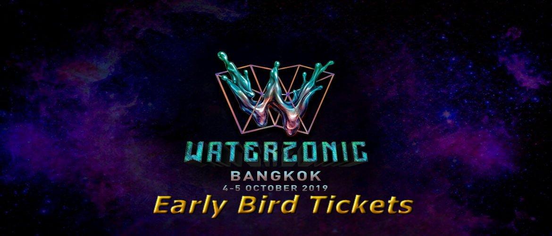 Waterzonic Bangkok 2019 - Early Bird Ticket Sales, DJ, EDM, Thailand, Bangkok, Event, Music Festival