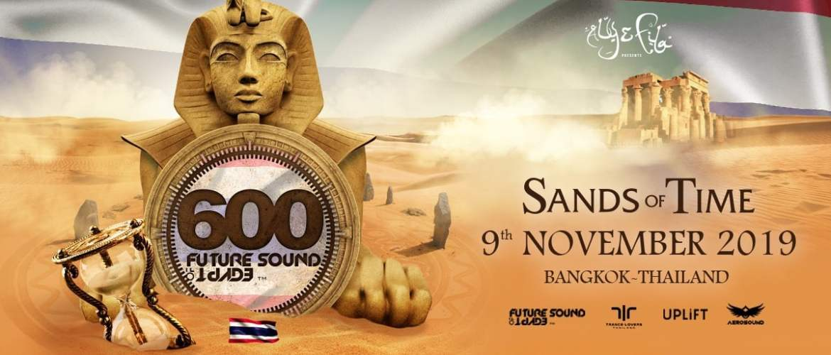 Sands of Time Bangkok - 2019, dj festival, trance