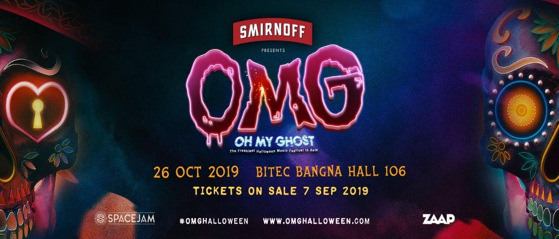 OMG - Oh My Ghost - Halloween Music Festival, DJ, EDM, Hallowen, Festival
