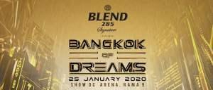 Bangkok of Dreams - Event Banner, DJ Festival, EDM, Thailand