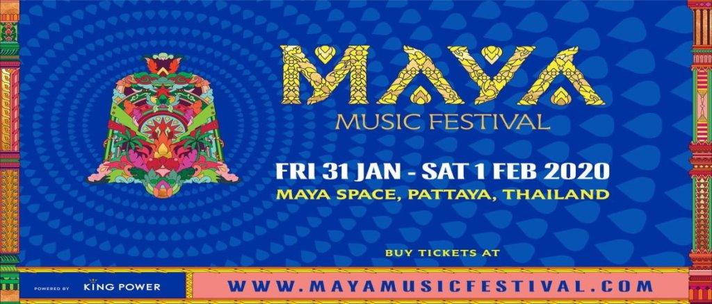 Maya Music Festival Pattaya 2020!