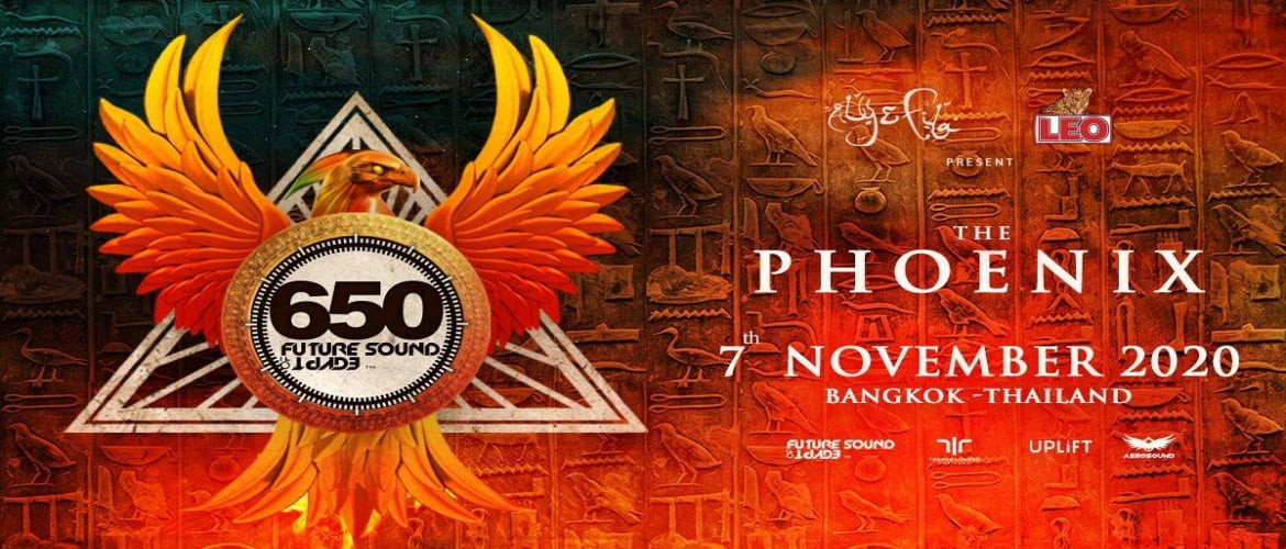 Future Sounds of Egypt Thailand - FSOE 650 Bangkok, dj, Trance Festival