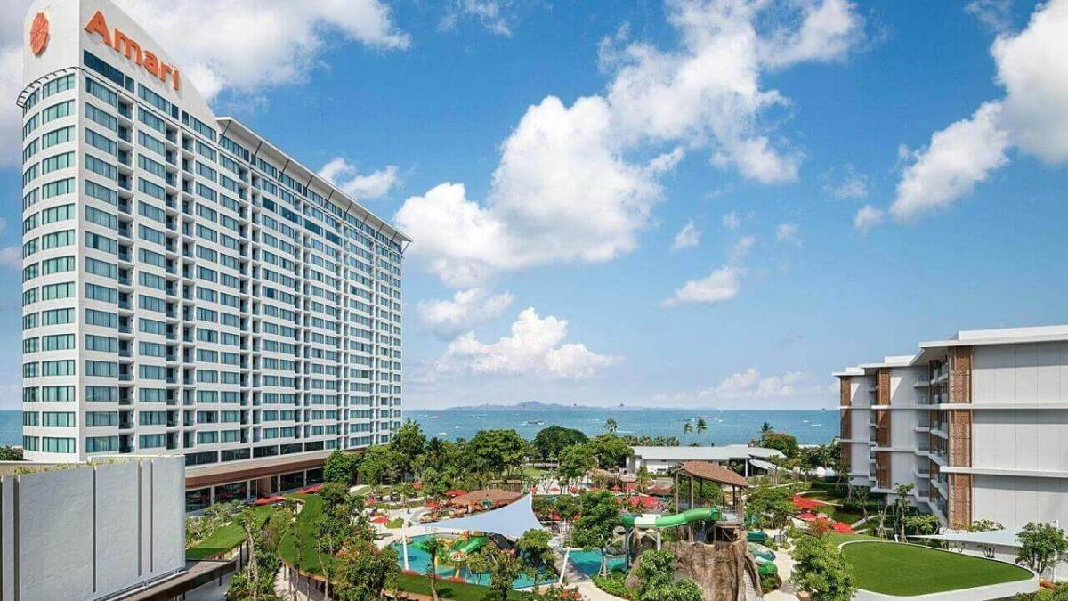 Amari Pattaya Resort - Destination for Pattaya New Year Party