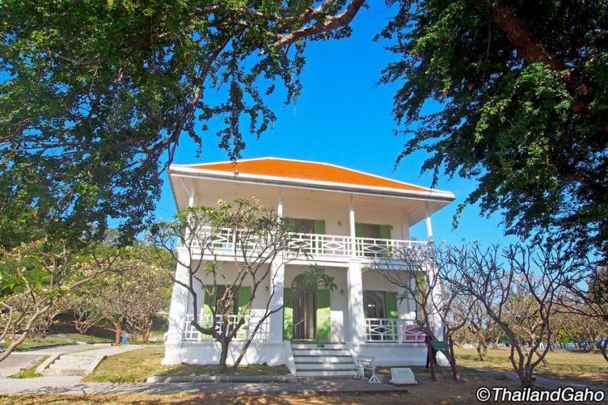 シーチャン島 王宮