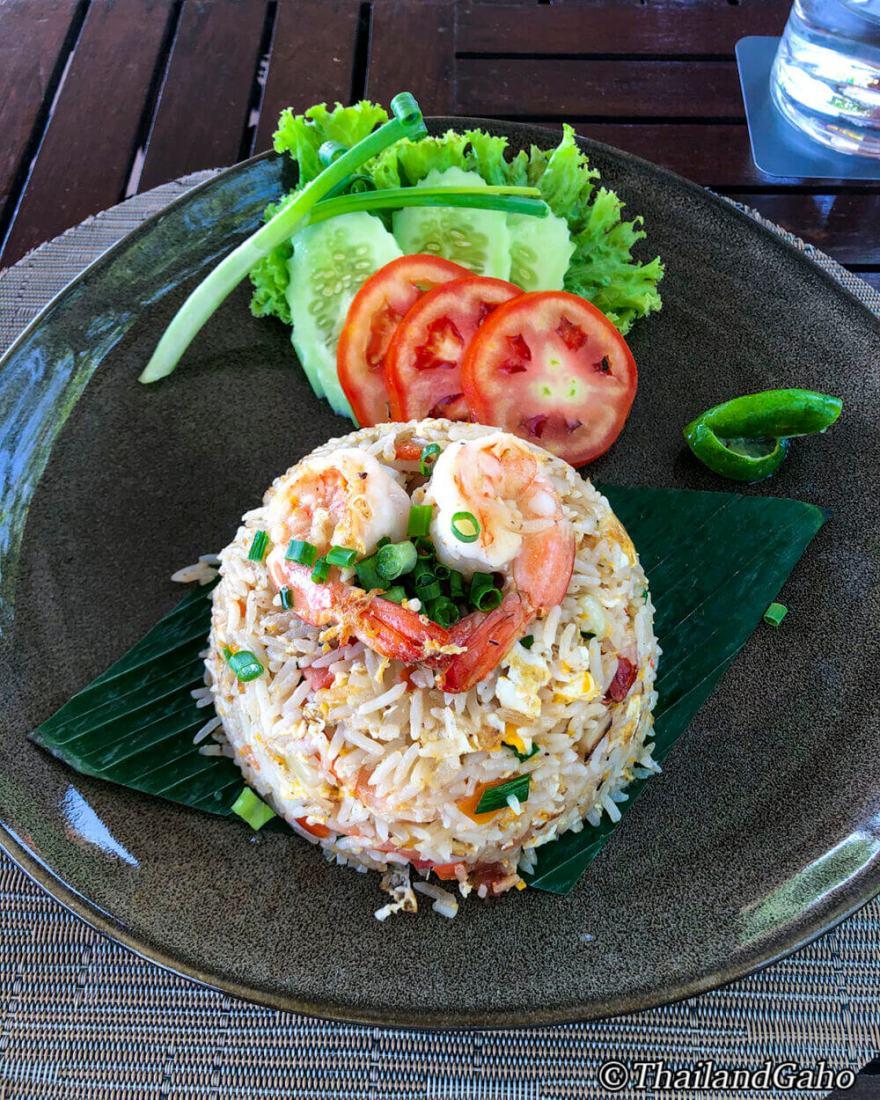 タイ料理 海老入りチャーハン