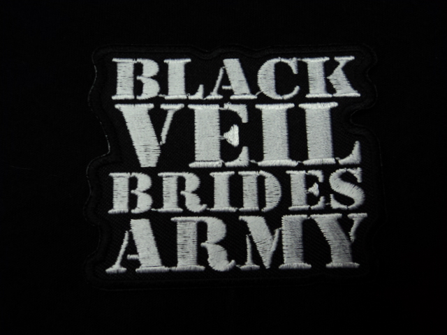 Black Veil Brides Rock Band Music Embroidered Iron// Sew on Patch// Logo