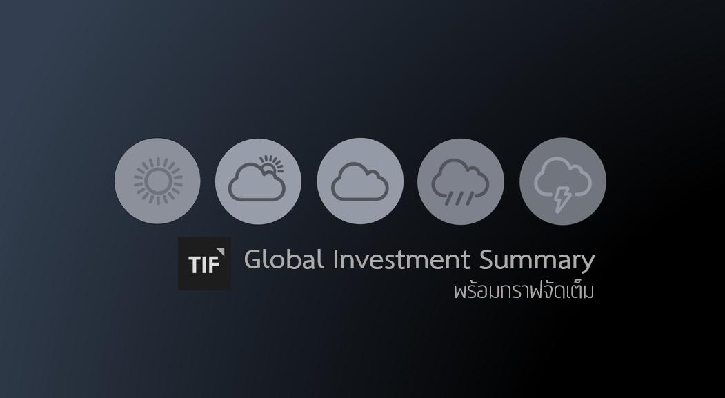TIF's Global Investment Summary | สรุปภาวะการลงทุนโลก วันพุธที่ 18 ต.ค. 60