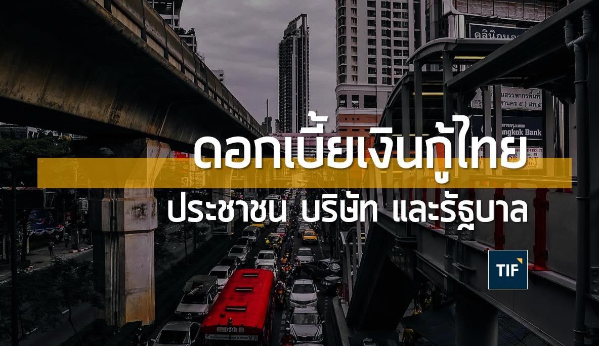 กู้เงินในประเทศไทย ต้องจ่ายดอกเบี้ยเท่าไรบ้าง จากแพงสุดถึงถูกสุด ? | TIF