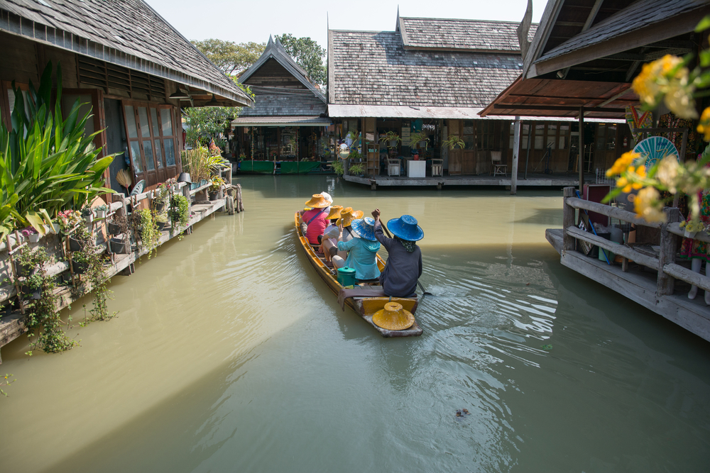 Four Regions Floating Market, Chonburi Thailand