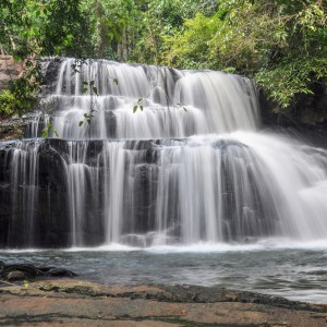 Pangsida Waterfall