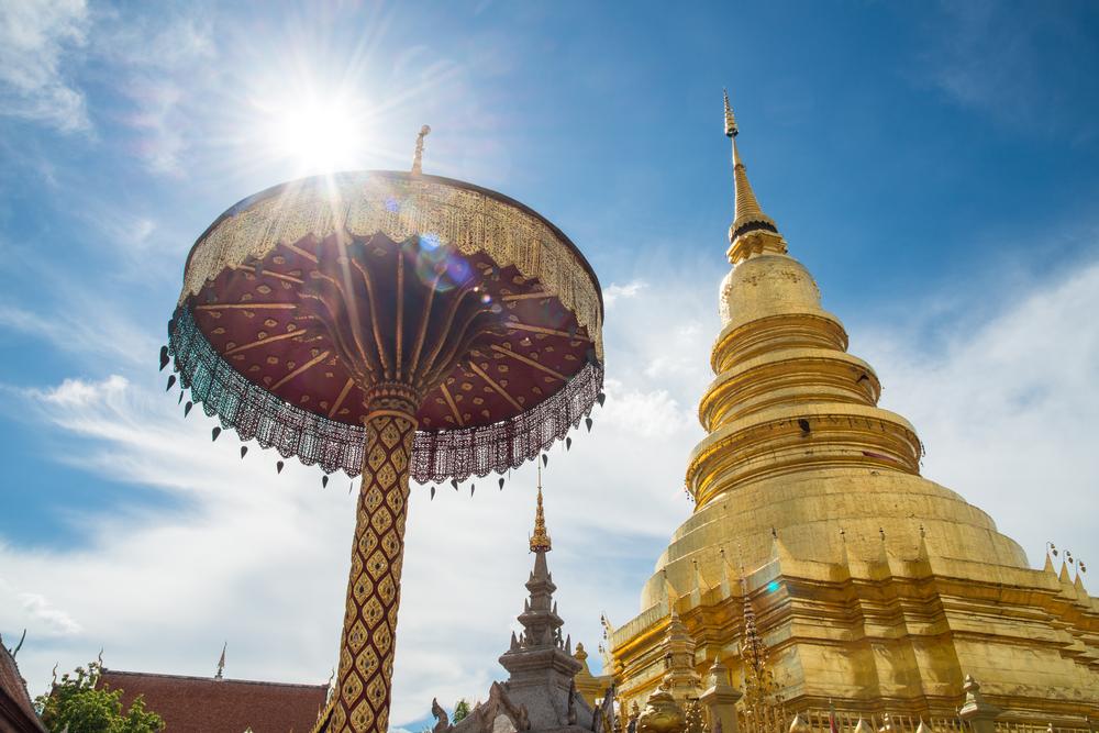 พระธาตุหริภุญไชยวรมหาวิหาร (Wat Phra That Hariphunchai Woramahawihan)