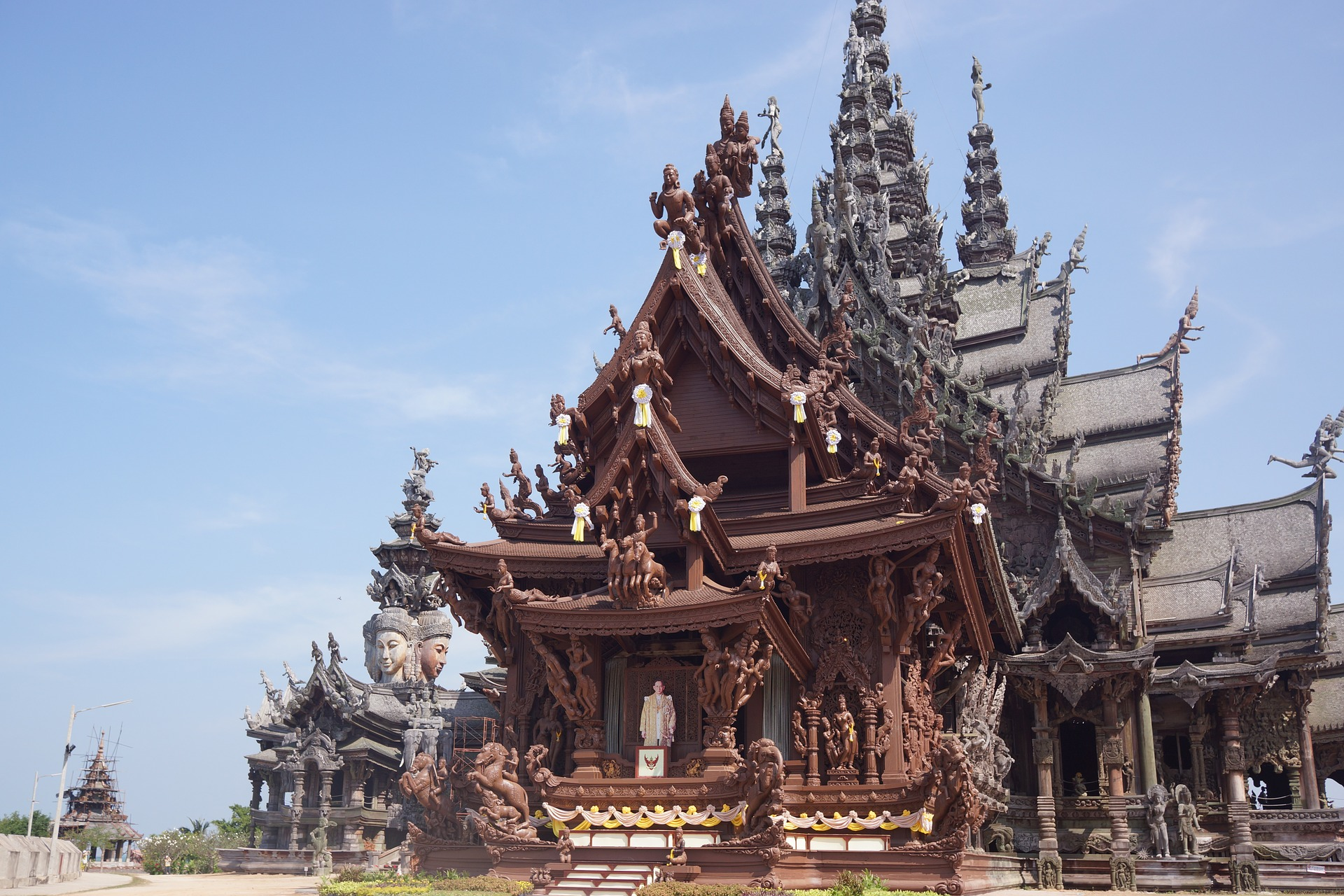 Sanctuary of Truth, Pattaya Thailand