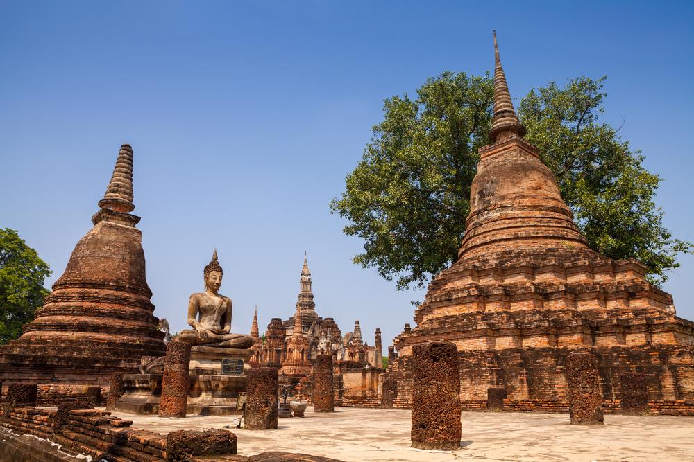 วัดมหาธาตุ (Wat Maha That) Sukhothai