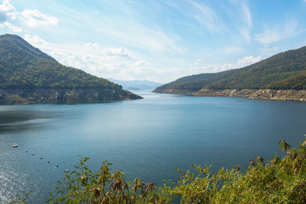 เขื่อนภูมิพล (Bhumubol Dam), Tak, Thailand