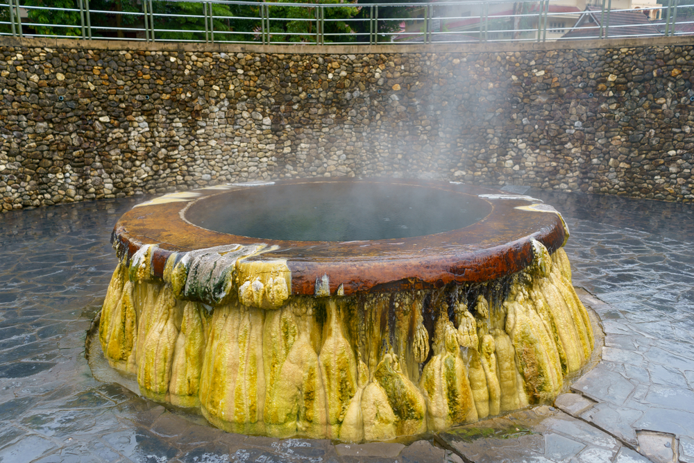 Mineral Water Hot  Spring (บ่อน้ำแร่)