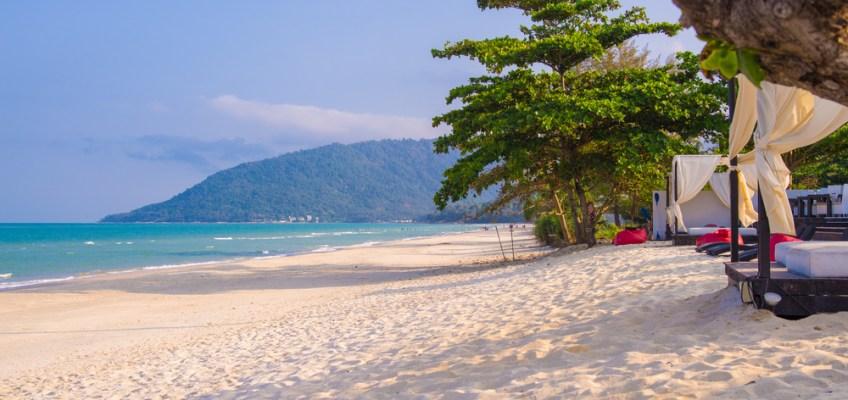 Beach at Kanom National Park (หาดที่อุทยานแห่งชาติหาดขนอม)