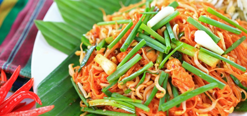 Korat noodles (หมี่โคราช)