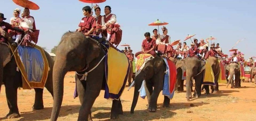 Satte - Wedding on an elephant's back (ซัตเต - แต่งงานบนหลังช้าง)