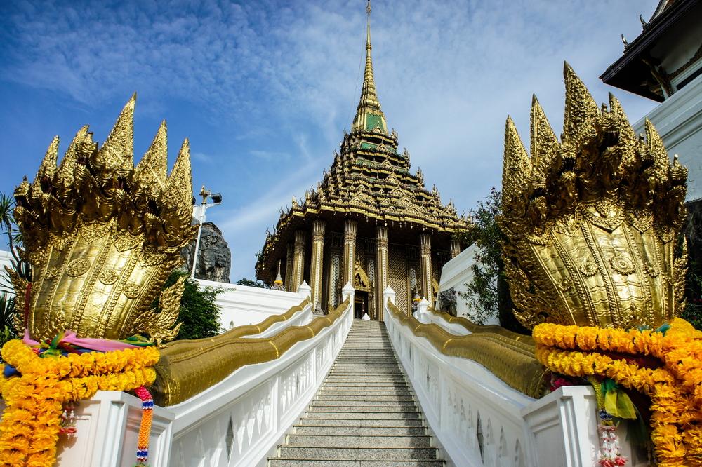Wat Phra Phutthabat (วัดพระพุทธบาท จ.สระบุรี) Saraburi, Thailand