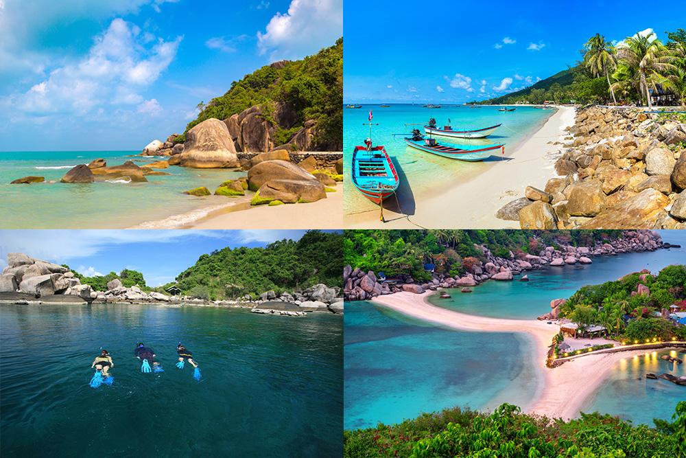 Travel Thai beaches in August