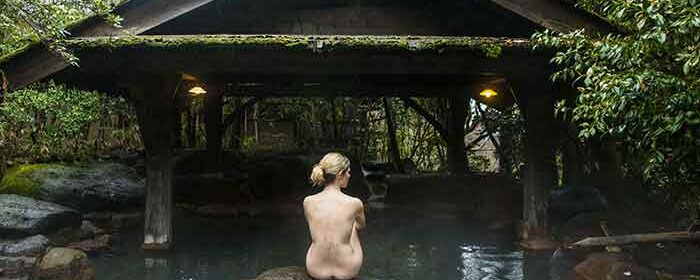 Onsen is good for family naturism