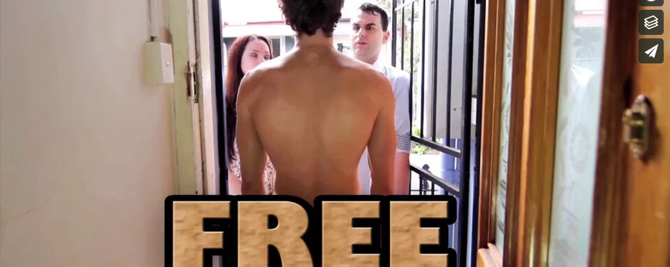 Free video on being naked