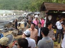 oill spill Thailand