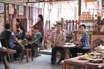 yingluck having coffee