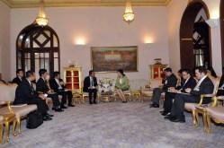 Japan Meeting Thailand officials
